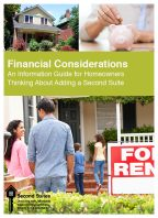 Financial Considerations: An Information Guide for Homeowners Thinking About Adding a Second Suite